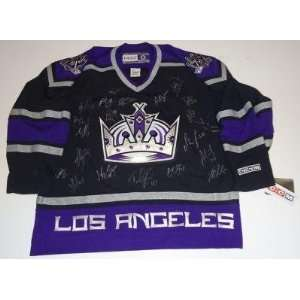 2011 12 *LOS ANGELES KINGS* team signed jersey W/COA B