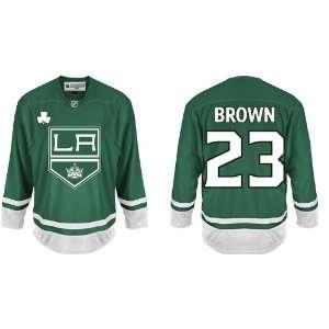 Day Dustin Brown #23 Los Angeles Kings Green Jersey Hockey Jerseys