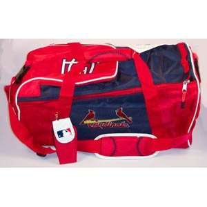 ST. SAINT LOUIS CARDINALS MLB Baseball Deluxe DUFFEL BAG