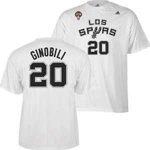 San Antonio Spurs Manu Ginobili #20 Latin Nights Name