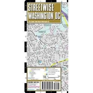 Streetwise Washington DC Map   Laminated City Center Street Map