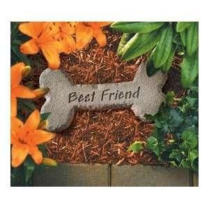 Best Friend Memorial Dog Stone Patio, Lawn & Garden