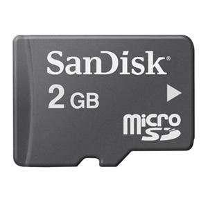 NEW 2GB MicroSD Memory Card (Flash Memory & Readers)