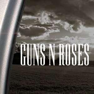 Guns N Roses Decal Metal Hard Rock Band Car Sticker Arts