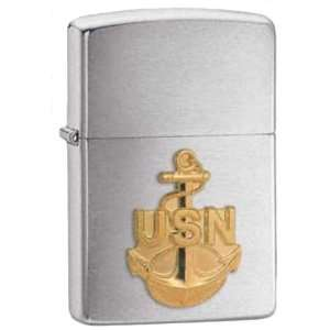 United States Navy Crest Heroes Military Chrome Zippo