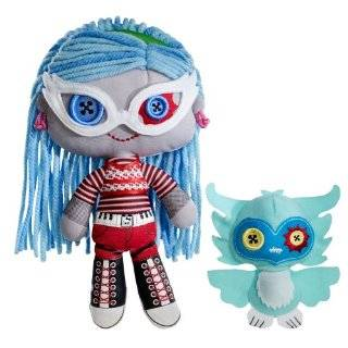 Monster High Friends Plush Frankie Stein Doll : Toys & Games :