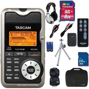 Tascam DR 2D Digital Portable Recorder w Remote Electronics