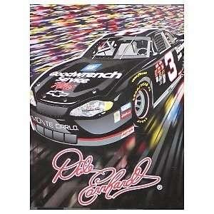 DALE EARNHARDT SR. 50 x 60 NASCAR #3 Logo Super Soft