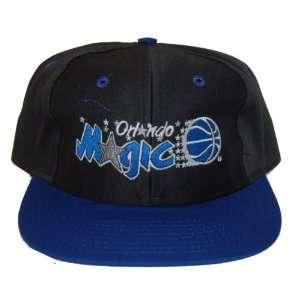 NBA Orlando Magics Black Adjustable Snapback Cap Hat