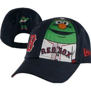 Boston Red Sox Toddler New Era Big Mascot 9Forty Adjustable Hat