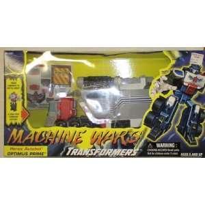 Transformers Machine Wars Optimus Prime Mib Toys & Games