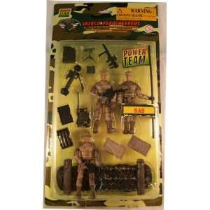 World Peacekeepers 3 3/4 SAS 3 Pack Action Figures