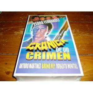 Cronica De Un Crimen [VHS] Pedro Fernandez Movies & TV