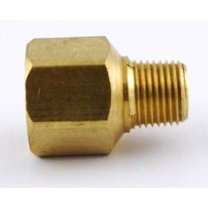 NPT Female to 1/8 NPT Male Brass Pipe Adaptor/Adapter Straight