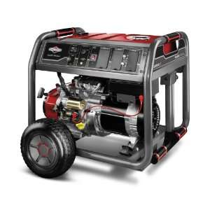 30471 10,000 Watt 420cc Gas Powered Portable Generator With Wheel Kit