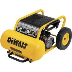 Lube Wheeled Portable Air Compressor w/ DV and DC Home Improvement