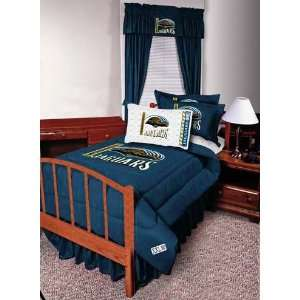 Jaguars Complete Bedding Set Queen Size  Sports & Outdoors