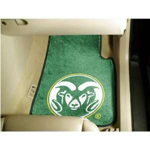 Colorado State Rams NCAA Car Floor Mats (2 Front