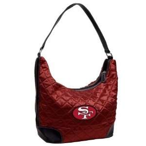 DK Retro NFL San Francisco 49ers Retro Quilted Hobo