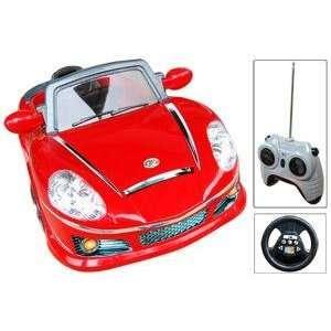 Ride On Convertible Sports Car For Kids Can Be Remote
