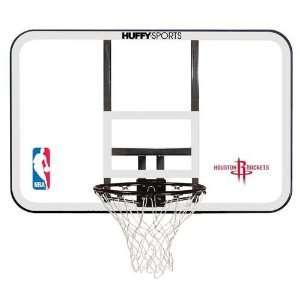 Houston Rockets NBA Backboard and Rim Combo Sports