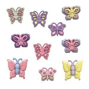 BUTTON THEME PACKS BUTTERFLIES Papercraft, Scrapbooking (Source Book