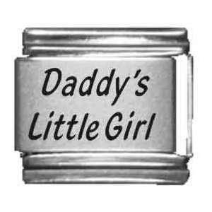 Daddys Little Girl Italian Charm Jewelry