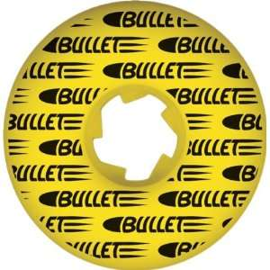 Bullet Split Shot 52mm Yellow Skate Wheels: Sports & Outdoors