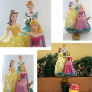 DISNEY PRINCESS CINDERELLA BELLE SLEEPING BEAUTY AURORA