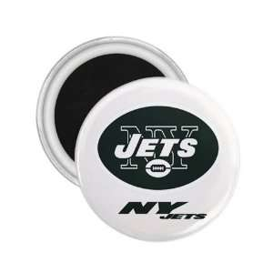 New York Jets NFL Logo Souvenir Magnet 2.25