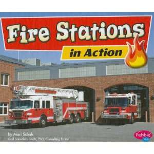 Fire Stations in Action (Fighting Fire) (9781429617246