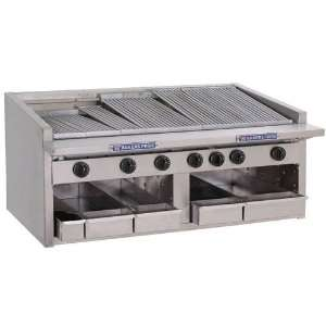 Bakers Pride C 48GS 48 Countertop Glo Stone Charbroiler