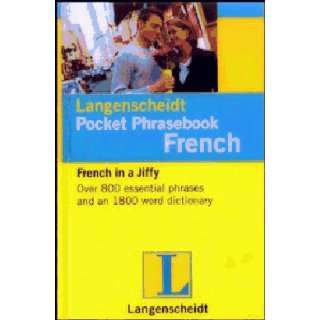 com Langenscheidt 735078 French Pocket Phrase Book Sports & Outdoors