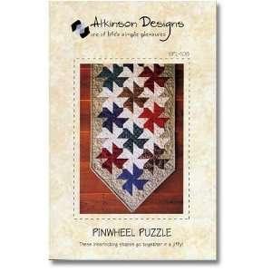 Pinwheel Puzzle Table Runner Pattern