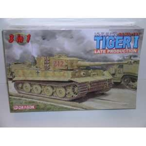 II Tiger I Tank   Late Production Plastic Model Kit: Everything Else