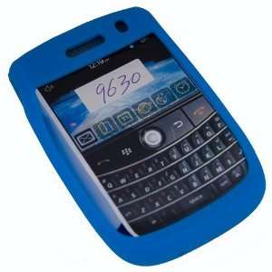 Light Blue Silicone Soft Skin Case Cover for Blackberry