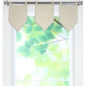 Chatsworth Collection Valances   tab top valance, Linen