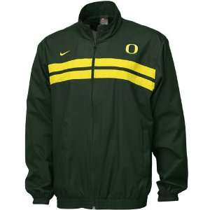 Nike Oregon Ducks Green Classic Warmup Jacket: Sports & Outdoors