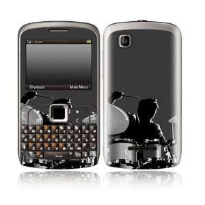 Drum Design Decorative Skin Cover Decal Sticker for Motorola EX115