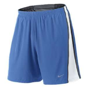 Nike 7 Inseam Italy Blue Dri FIT Tempo Two In One Mens Running Shorts
