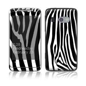 Zebra Print Decorative Skin Cover Decal Sticker for HTC 7