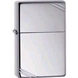 Zippo Lighters 11260 Vintage Zippo Lighter with High Polished Chrome