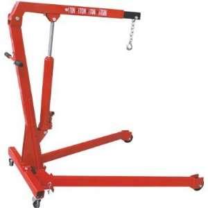 Torin Big Red Folding Engine Hoist   1 Ton Capacity