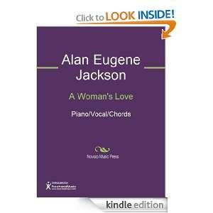 Womans Love Sheet Music Alan Eugene Jackson  Kindle