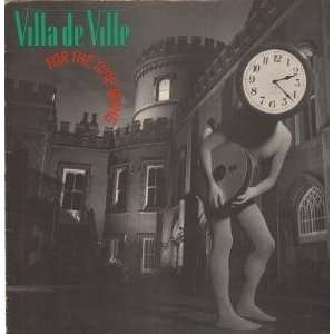 FOR THE TIME BEING LP (VINYL) UK RCA 1981 VILLA DE VILLE