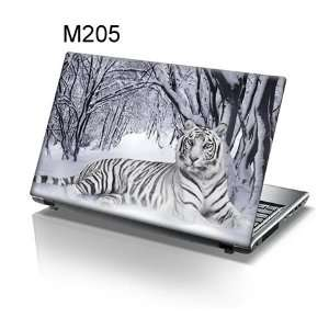 Inch Taylorhe laptop skin protective decal tiger lying in the snow