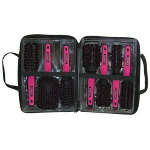 Scalpmaster Rebel Collection 7 Piece Brush Set with Carry Bag Beauty