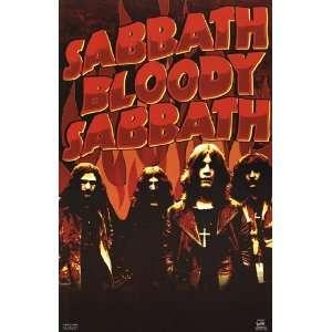 Black Sabbath  Bloody   Poster (22x34)