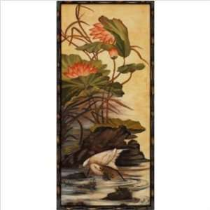 Lotus Pond by Unknown Size 16 x 20