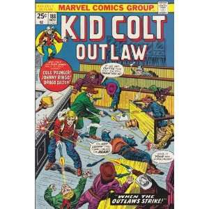 Kid Colt Outlaw #188 Back Issue Comic Book (Nov 1974) Fine